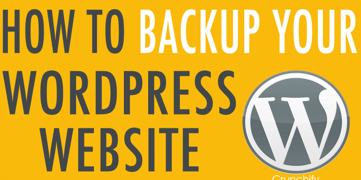How do I Backup my WordPress Site? Crunchify's Favorite and Best WordPress BACKUP Plugins