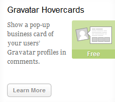 Add Gravatar Hovercard to your blog