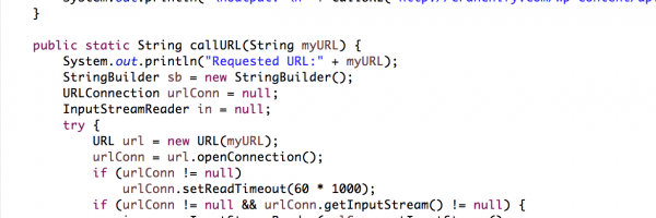 Java URL example: Getting text from URL – Send HTTP request GET/POST in Java