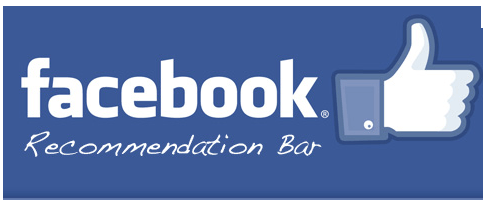 Facebook Recommendation bar Crunchify Plugin