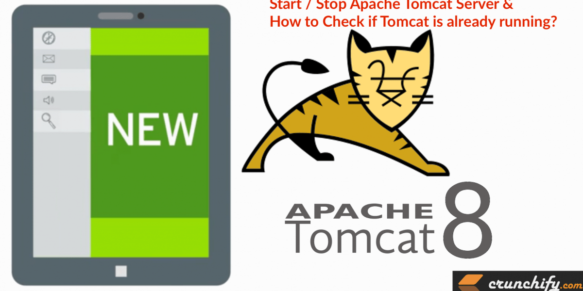 How to Start Stop Apache Tomcat via Command Line? Check if Tomcat is already running and Kill command