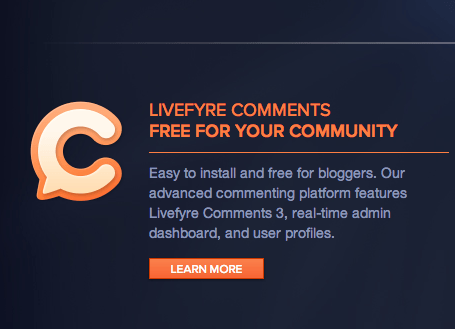 "Crunchify comments upgraded to ""Livefyre"" [Moved back to WordPress Comments]"