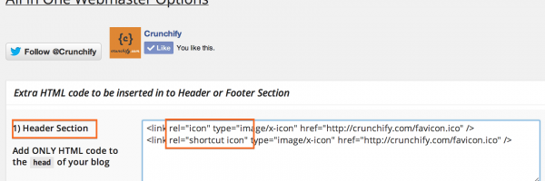 How to Add Favicon to your WordPress blog using Hook + Other Options