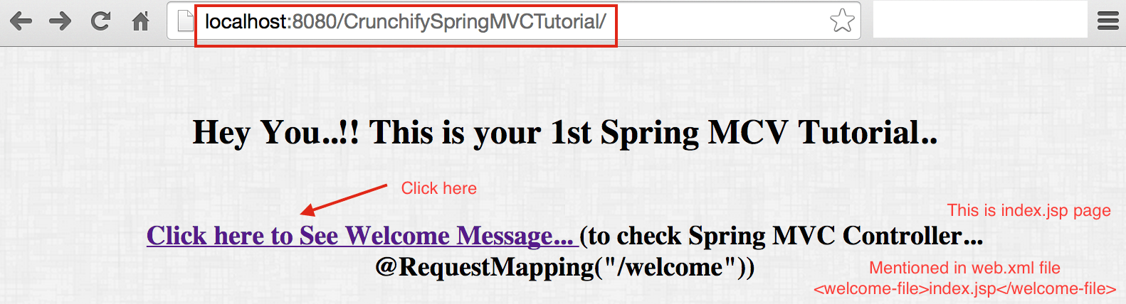 CrunchifySpringMVCTutorial index.jsp page