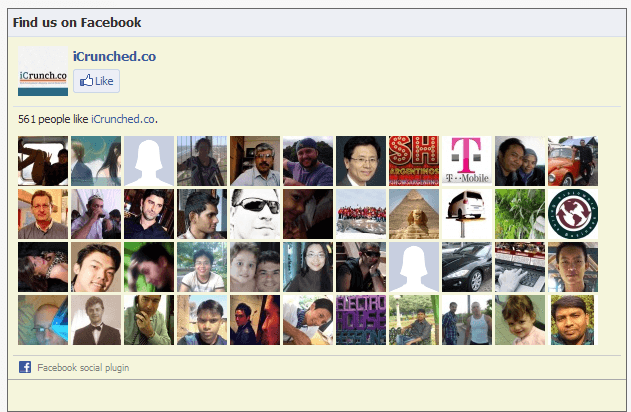 Facebook LikeBox Plugin - Crunchify