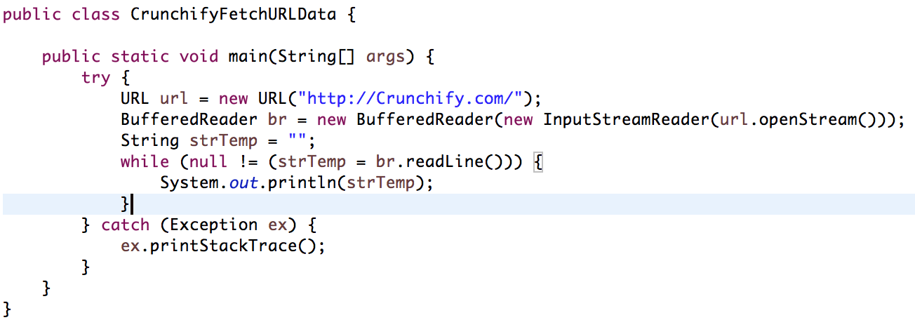 How to Send HTTP Request and Capture Response in Java
