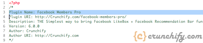 Facebook Members Pro - Crunchify Plugin