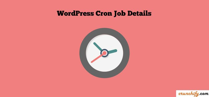 WordPress Cron Jobs Setup by Crunchify