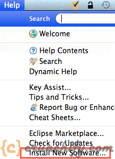 Eclipse Install New Software