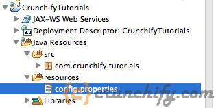 Java Create config.properties File - Crunchify Tutorial