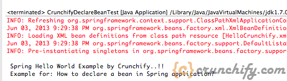 Crunchify Spring MVC Tutorial result