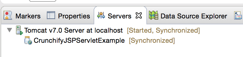 Deploy Crunchify JSP Servlet Project on Tomcat