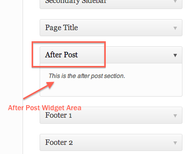 How to Add After Post Widget Area in Genesis 2.0 Framework- WordPress Tips