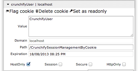 Crunchify Cookie Example - Check Cookies