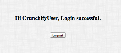 Crunchify Cookie Example - Success Result