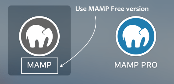 Use MAMP Free version on Mac