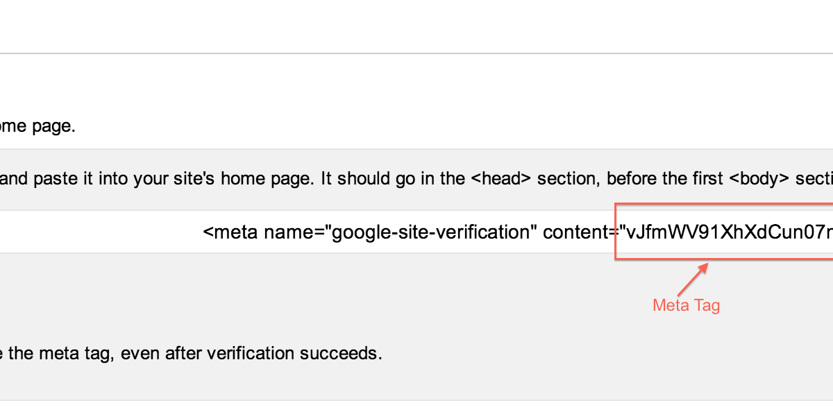 How Can I Find Meta Tags Values Required In All In One Webmaster