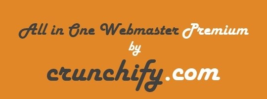 Black Friday 20% Off Discount on Any Purchase of All in One Webmaster Premium Plugin