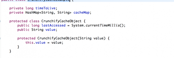 Implement Simple Threadsafe Cache using HashMap without using Synchronized Collection