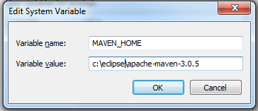 How to Setup/Install Maven Classpath Variable on Windows