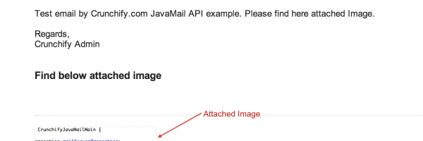 How to Send an Email using Java MailAPI with Large Image as an Attachment