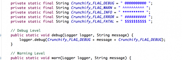 Better Logging for your Enterprise Java Application – CrunchifyBetterLog4jLogging.java