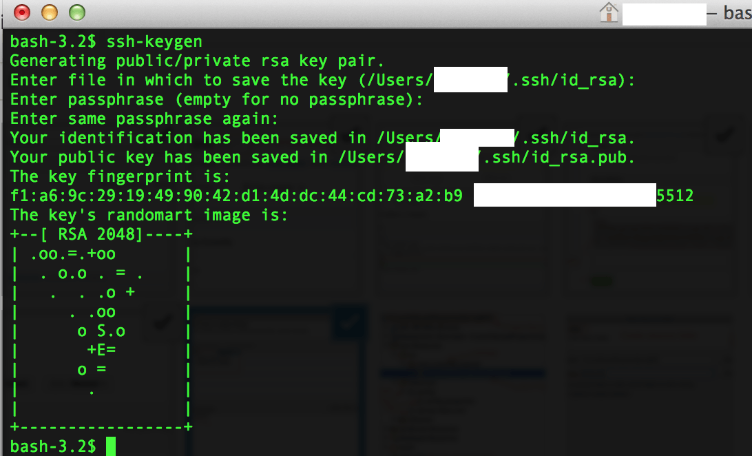Generate SSH Keygen