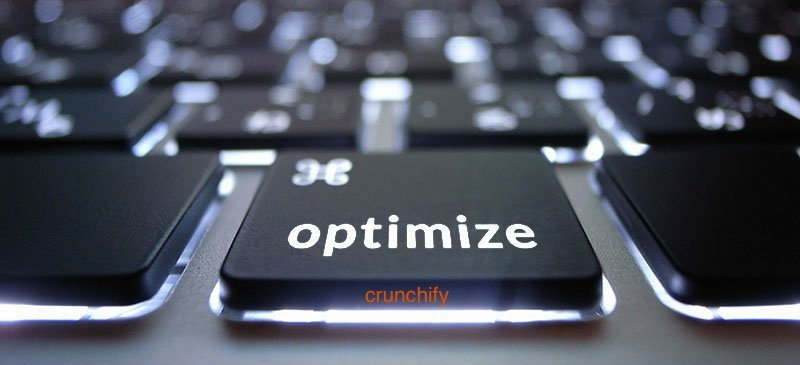 Optimize WordPress - Crunchify Tips