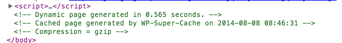 WP Super Cache Rocks