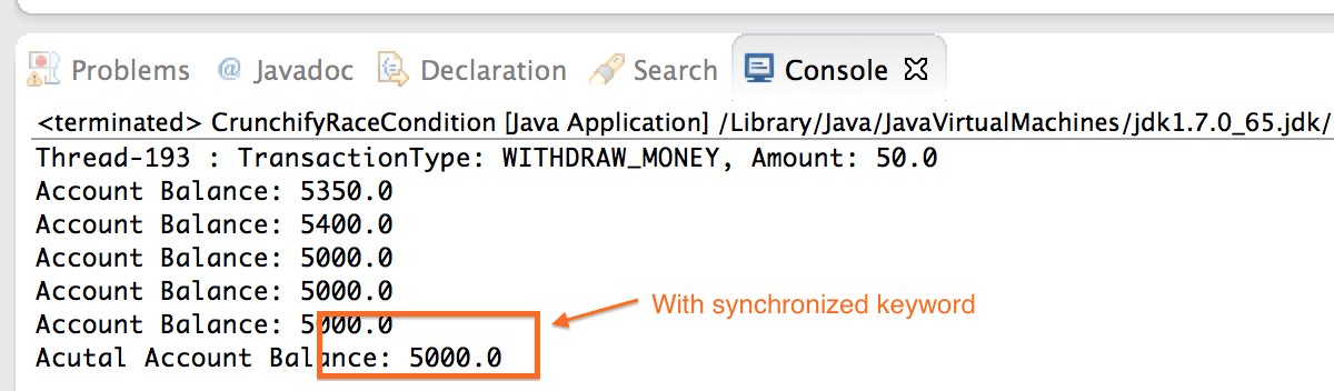 Java Synchronized Block Keyword - Crunchify
