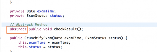 What is an Abstract Class and Abstract Method in Java? When Should I use it? Example Attached