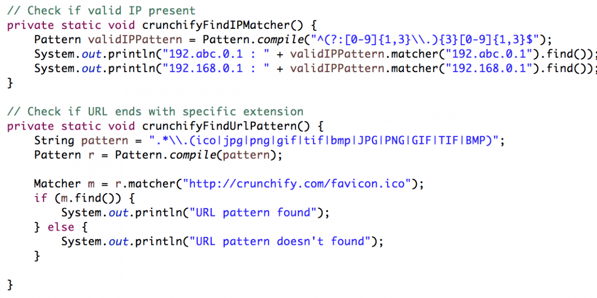 What is RegEx Pattern (Regular Expression)? How to use it in Java? Example Attached