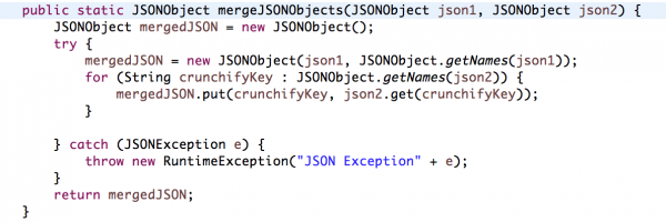 How to Merge/Concat Multiple JSONObjects in Java? Best way to Combine two JSONObjects