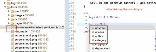 How to Setup PHP Development Tools (PDT) in Eclipse For WordPress Plugin Development