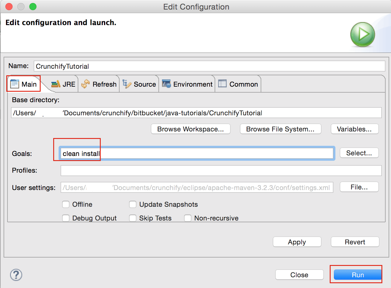 Maven Clean Install Steps For Eclipse Web Project