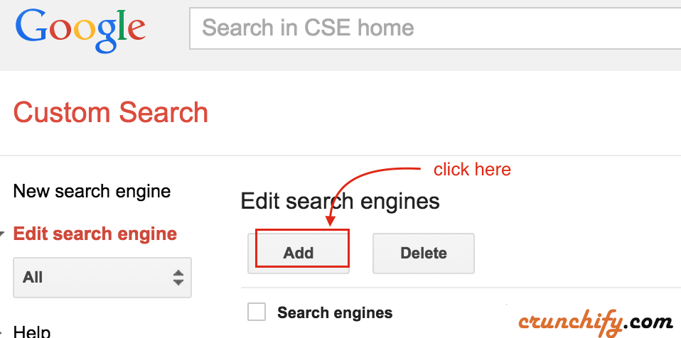 Add-Custom-Search-Crunchify-Tips