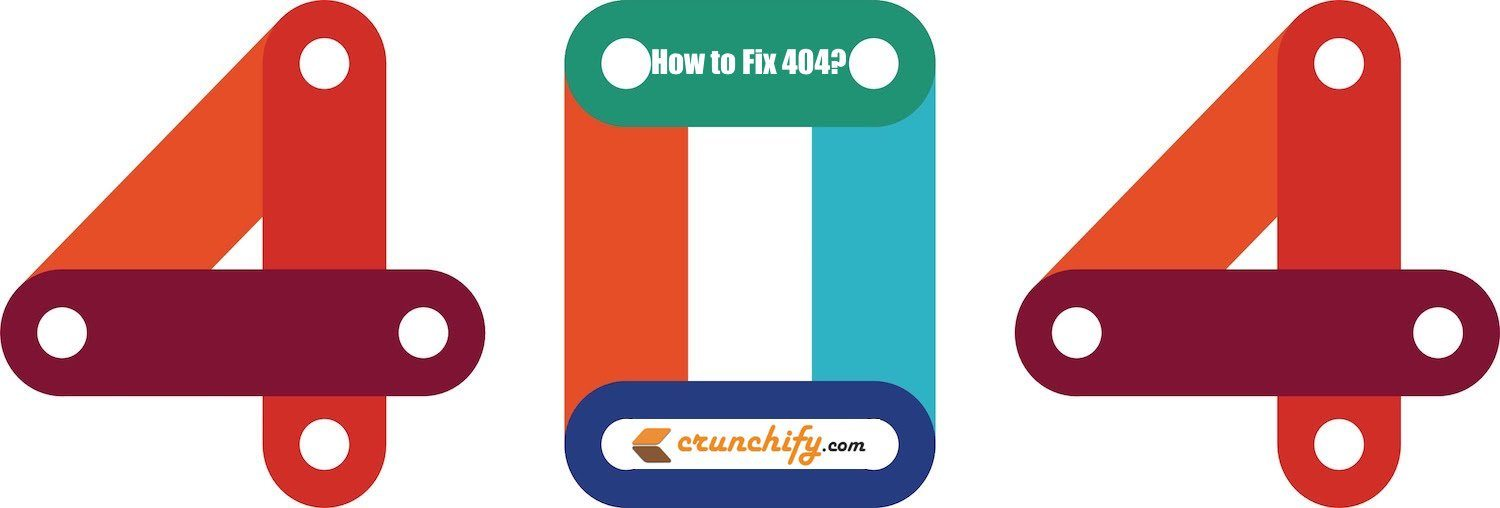 Crunchify 404 Page not Found Error - How to fix