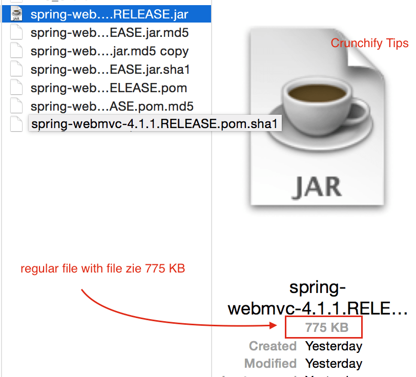 spring-webmvc-4.1.1.RELEASE regular non-corrupted file