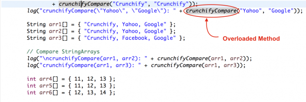 "Best way to Compare String Arrays, Integer Arrays and Strings in Java – ""CrunchifyCompare"" Overloaded Utility for your Project"