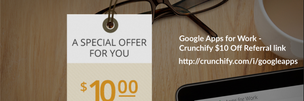 Google Apps For Works Review: $10 off per user per year coupon code