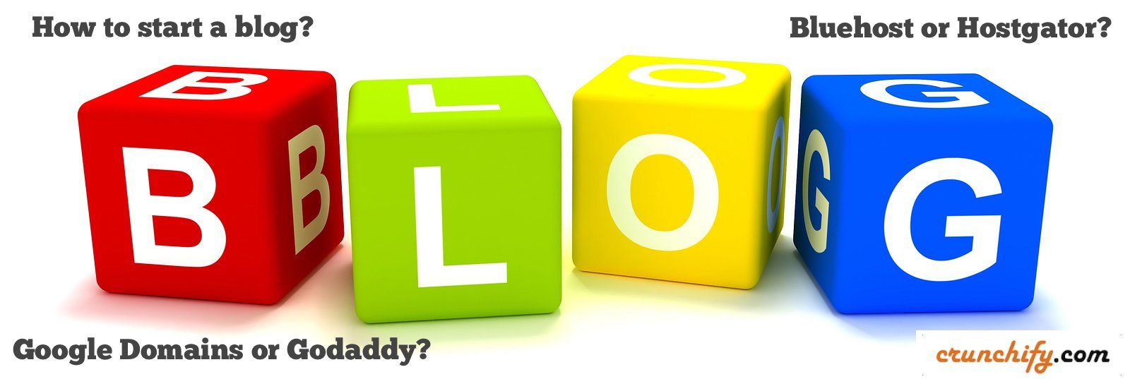 How to Start a blog - Crunchify Tips