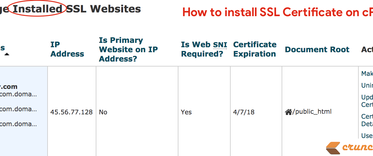 How to Install SSL Certificate on cPanel for your WordPress Blog – Generate CSR and CRT