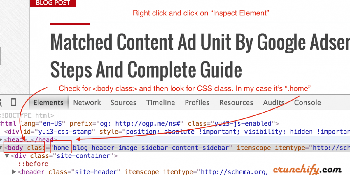 How to Apply CSS only on Home, Archive, Page or Custom Post Type – WordPress Tips and Tricks