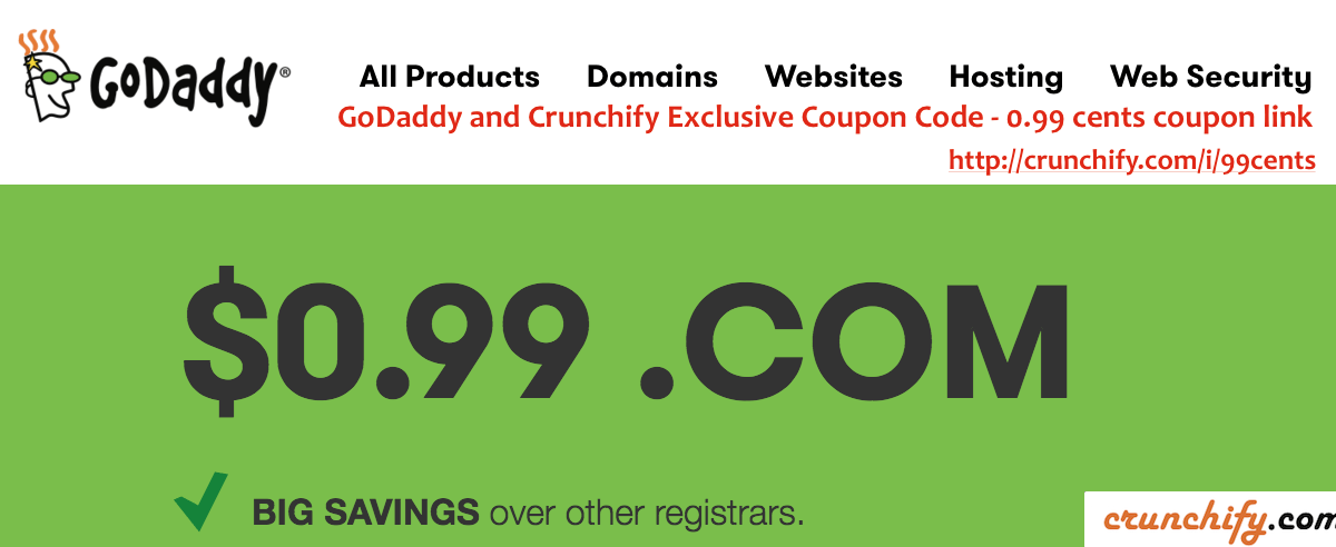 GoDaddy WordPress Hosting Review: $1/month Hosting and $0.99 Cents Domain Coupon Link