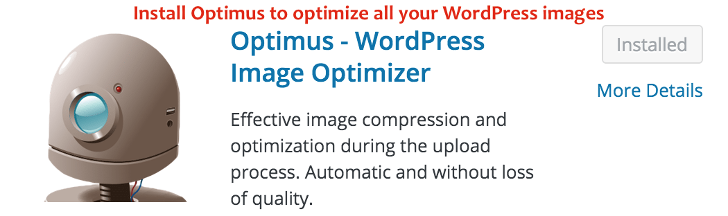 Install Optimuz on your WordPress site - Crunchify Tips