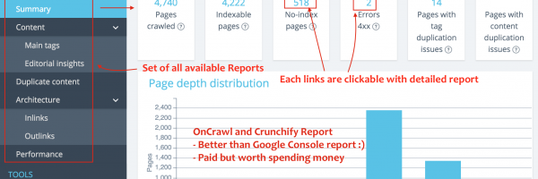 How to Validate Blog's SEO settings and HTML Quality Standards? Get detailed Insight with OnCrawl SEO Crawler and Log Analyzer