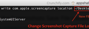 Change Screenshot Capture File Location on Mac OS X - Crunchify Tips