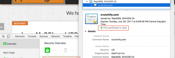 HTTPS everywhere on Crunchify.com – WordPress Handy Checklist and Complete Guide Moving over to HTTPS