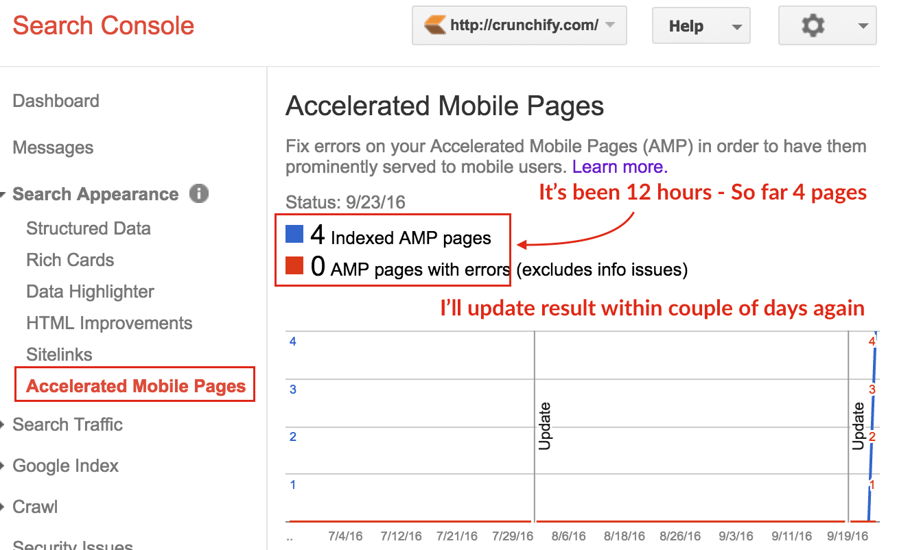 accelerated-mobile-pages-in-google-search-console-crunchify