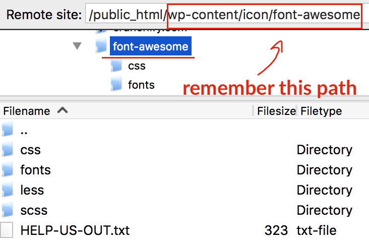 put-font-awesome-font-into-your-site-wp-contents-folder